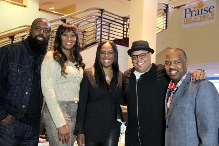 Yolanda Adams Morning Show with Isreal Houghton