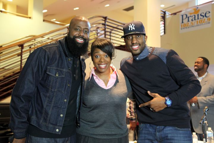 Marcus D. Wiley, Veda Howard, and Isaac Carree