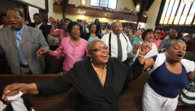 Sunday Service At Grant AME Church