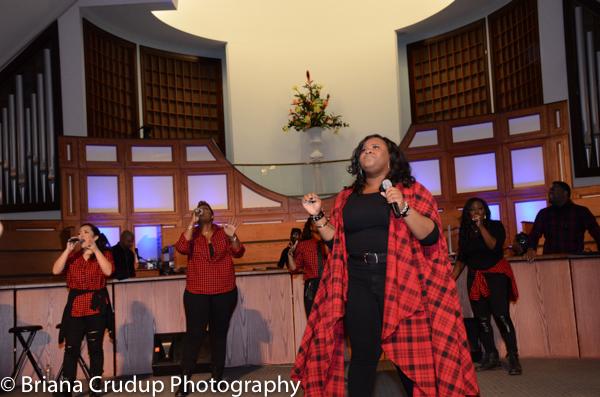 Tasha Cobbs, Kierra Sheard & Bishop William Murphy at ONE PLACE LIVE Tour ATL!