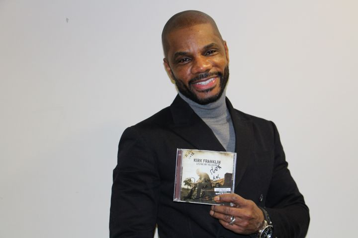 Kirk Franklin Visits Radio One Baltimore