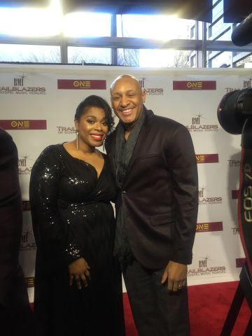 Veda Howard At The BMI Trailblazers Of Gospel For TV One