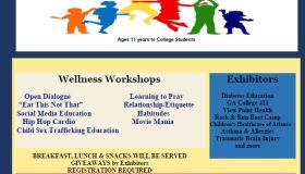 Free Youth Academy Wellness Fair