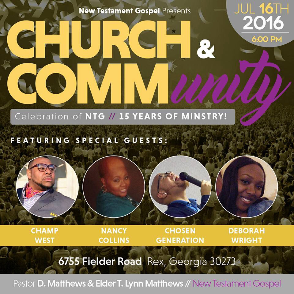 Church And CommUNITY