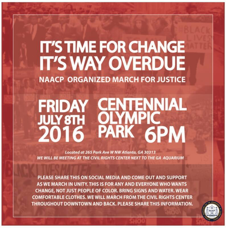 NAACP March for Justice