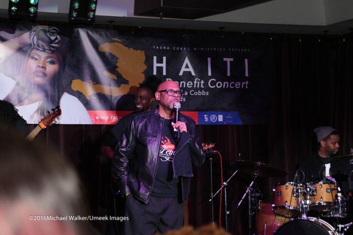 Tasha Cobbs Benefit Haiti Concert
