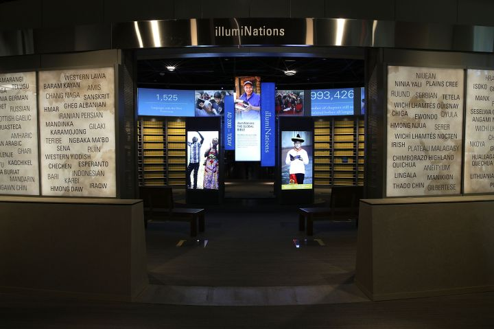 The Museum Of The Bible Holds A Press Preview Ahead Of It's Public Opening