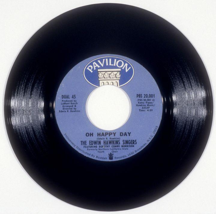 Edwin Hawkins Singers 'Oh Happy Day' 45
