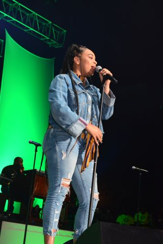 Koryn Hawthorne On Stage At Praise In The Park 2018