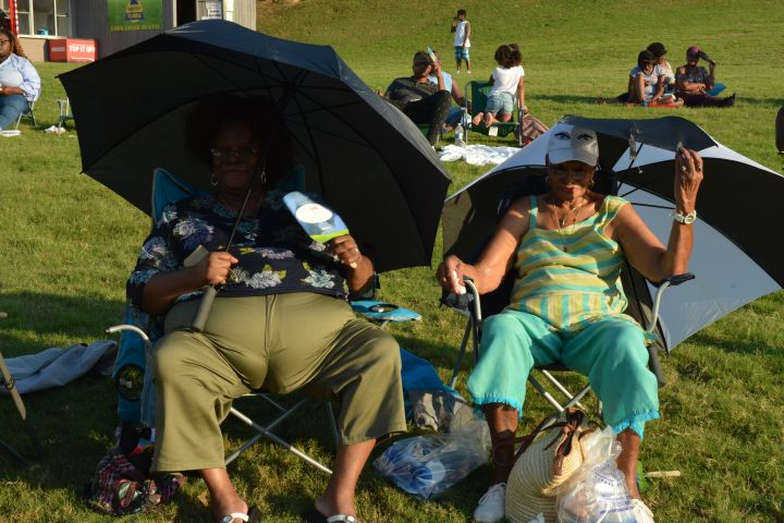 Praise In The Park 2018 Crowd Shots