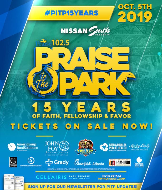 Praise In the Park: Sponsors
