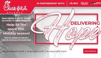 """Chick-fil-A Atlanta """"Delivering Hope"""""""