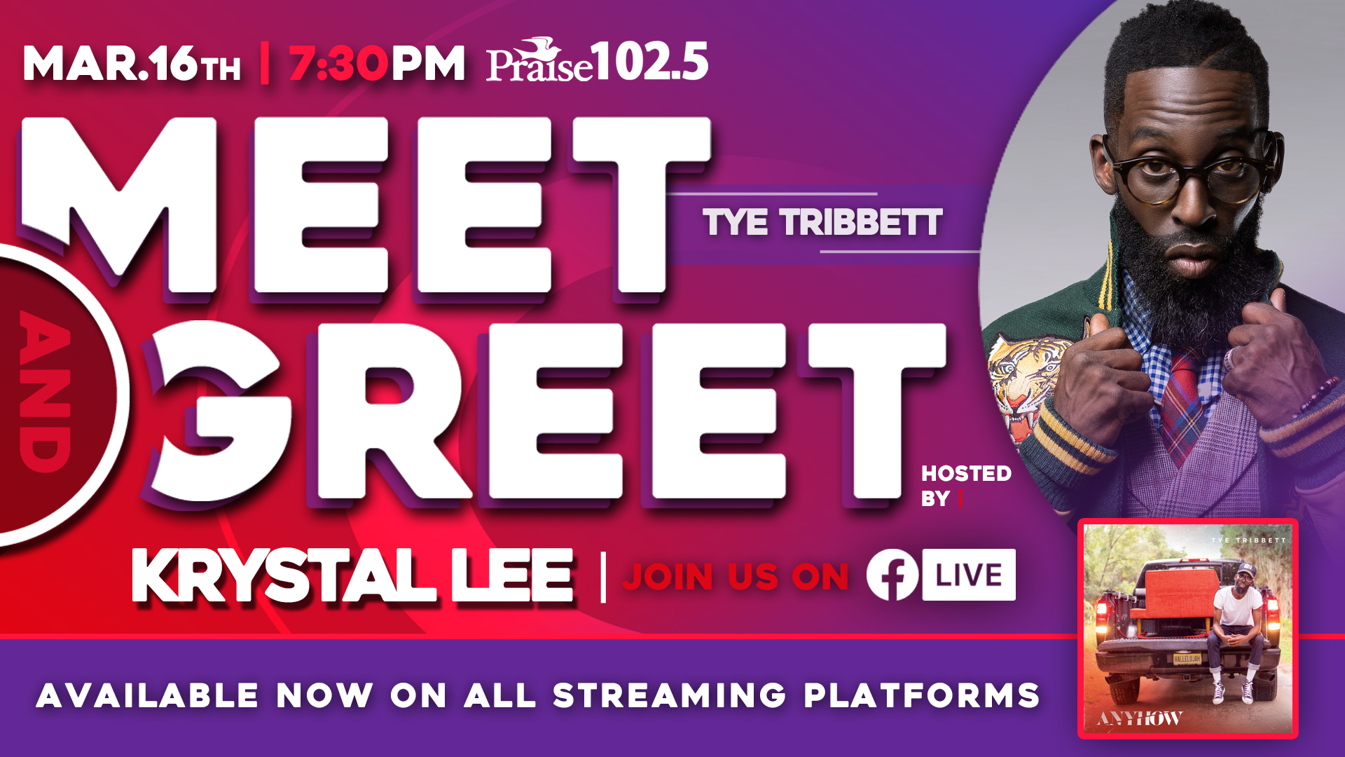 Tye Tribbett Meet & Greet ATL