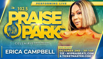 Praise In The Park - Erica Campbell