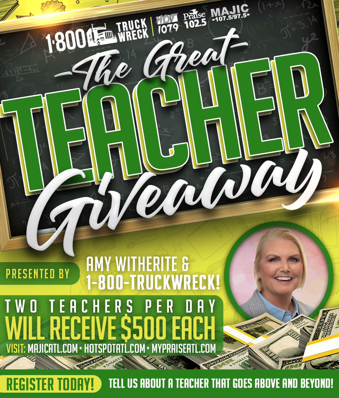 1-800-TruckWreck Presents | The Great Teacher Giveaway Contest!