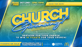 Praise in the park 2021 Giveaway