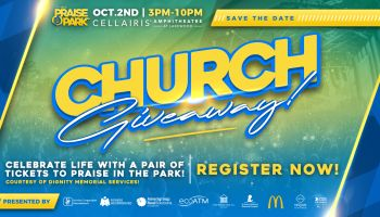 Praise in the park giveaway 2 tickets 2021