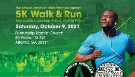 The African American Male Wellness Agency | 5k Walk Run