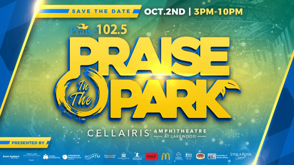 Praise in the Park Updated Graphics Radio One ATL